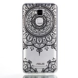 For Case Cover Pattern Back Cover Case Mandala Soft TPU for ASUS Asus Zenfone 3 Max ZC520TL