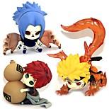 Аниме Фигурки Вдохновлен Наруто Sasuke Uchiha ПВХ 5-7 См Модель игрушки игрушки куклы