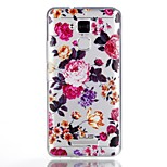 For Case Cover Pattern Back Cover Case Flower Soft TPU for ASUS Asus Zenfone 3 Max ZC520TL