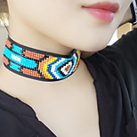 Women's Choker Necklaces Geometric Acrylic Floral Sexy Jewelry For Daily Street