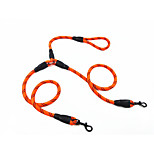 Dog Leash Portable Solid Polyester