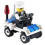 Конструкторы Полицейская машинка Игрушки Транспорт Non Toxic Классика Новый дизайн Взрослые 36 Куски