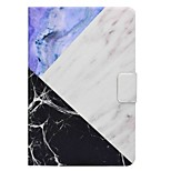 Marble Pattern Card Holder with Stand Flip Magnetic PU Leather Case for Samsung Galaxy Tab A T350 T355C 8.0 inch Tablet PC