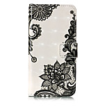 For Case Cover Card Holder Wallet with Stand Flip Pattern Full Body Case Lace Printing Hard PU Leather for Huawei Huawei P10 Lite Huawei