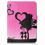 Hearts Pattern Card Holder Wallet with Stand Flip Magnetic PU Leather Case for Samsung GALAXY Tab A 9.7 T550 T555 9.7 inch Tablet PC