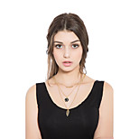 Women's Choker Necklaces Alloy Elegant Jewelry For Casual