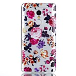 For Case Cover Pattern Back Cover Case Flower Soft TPU for Xiaomi Xiaomi Redmi Note 4X Xiaomi Redmi Note 4