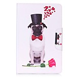 Dog Pattern Card Holder Wallet with Stand Flip Magnetic PU Leather Case for Samsung GALAXY Tab E 9.6 T560 T561 9.6 inch Tablet PC