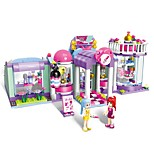 Building Blocks Toys Architecture Beauty Shop Architecture City DIY Classic New Design Kids Adults' Girls' 277 Pieces