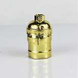 cheap -E26 Golden Aluminum Shell Antique Screw Edison Pendant Lamp No Switch Lamp Holder