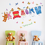 Fashion Wall Stickers Plane Wall Stickers Decorative Wall Stickers,Plastic Material Home Decoration Wall Decal