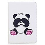 Panda Pattern Card Holder Wallet with Stand Flip Magnetic PU Leather Case for Samsung GALAXY Tab S2 8.0 T710 T715 8.0 inch Tablet PC