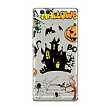 Case For Huawei P9 P10 Transparent Pattern Back Cover Transparent Halloween Soft TPU for Huawei P10 Plus Huawei P10 Lite Huawei P10