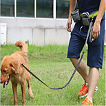 Dog Leash Hands Free Leash Trainer Reflective Portable Breathable Adjustable Solid Nylon