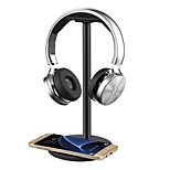 Headphone Headset Stand / Hanger / Holder / Mount with QI Wireless Charging for Samsung Galaxy S7 /S7 EdgeS6 / S6 EdgeNote 5 Nexus 7/5/4 Nokia Lumia