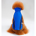 Dog Vest Dog Clothes Breathable Casual/Daily Color Block Orange Red Blue Costume For Pets