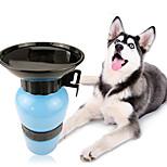 Кошка Собака Миски и бутылки с водой Животные Чаши и откорма Синий