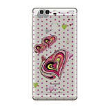 For Case Cover Transparent Pattern Back Cover Case Heart Transparent Soft TPU for Huawei Huawei P10 Plus Huawei P10 Lite Huawei P10