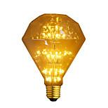 1pcs g95 mtx diamante forma 3w e27 levou luz de filamento quente branco para natal ac220-240v