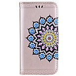 Case For Huawei P10 Plus P10 Card Holder Wallet Flip Embossed Pattern Full Body Mandala Flower Hard PU Leather for Huawei P10 Plus Huawei