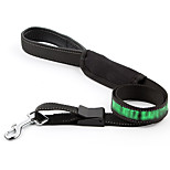 Dog Leash Portable Solid Nylon Black