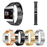 Watch Band for Fitbit ionic 22mm Stainless Steel Butterfly Buckle Band