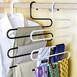 брюки из нержавеющей стали штаны вешалки штаны стеллажи пятислойные полотенца шарфы пространство случайный цвет