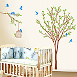 Botanical Fashion Wall Stickers Plane Wall Stickers Decorative Wall Stickers,Plastic Material Home Decoration Wall Decal
