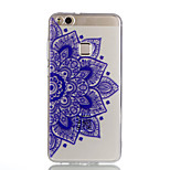 Case For Huawei P10 Lite P10 Transparent Pattern Back Cover Mandala Soft TPU for Huawei P10 Lite Huawei P10 Huawei P9 Lite Huawei P8 Lite