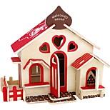 3D Puzzles Wooden Puzzles Model Building Kits Toys House 3D Houses Fashion Kids DIY Hot Sale Classic Fashion New Design Kids 1 Pieces