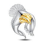 Жен. Классические кольца Бижутерия Животный дизайн Панк Стерлинговое серебро В форме животных Бижутерия Назначение Для вечеринок Свидание