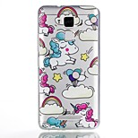 For Case Cover Pattern Back Cover Case Unicorn Soft TPU for ASUS Asus Zenfone 3 Max ZC520TL