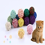 Cat Cat Toy Dog Toy Pet Toys Ball Interactive Rope Cotton For Pets