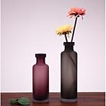 креативный стиль мягкий наряд простой украшение для ювелирных украшений для дома домашняя обстановка матовая стеклянная ваза