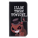 Case For Huawei Y5 III(Y5 2017) P8 Lite Card Holder Wallet with Stand Flip Full Body Word / Phrase Hard PU Leather for Huawei P10 Lite