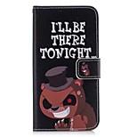Кейс для Назначение Huawei Y5 III(Y5 2017) P8 Lite Бумажник для карт Кошелек со стендом Флип Чехол Слова / выражения Твердый