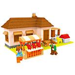 Building Blocks Toys House Garden Theme Fairytale Theme Houses Kids Boys 293 Pieces