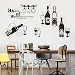 Fashion Food/Beverage Wall Stickers Plane Wall Stickers Decorative Wall Stickers,Plastic Material Home Decoration Wall Decal