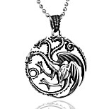 Men's Pendants Dragon Titanium Steel Fashion Punk Jewelry For Party/ Evening Daily
