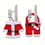 Dining and Kitchen Holiday Fairytale Theme People Wedding Birthday Non-woven Christmas Decoration