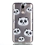 For Case Cover Pattern Back Cover Case Cartoon Panda Soft TPU for LG LG K10 (2017) LG K8 (2017)