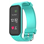 HHY Smart Wristband l38i Smart Bracelet And a Heart Rate Monitor Bluetooth Bracelet Pedometer Fitness Waterproof Android Ios Mobile Phone
