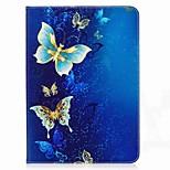 бабочка шаблон карты держатель кошелек с подставкой магнитный кожаный чехол pu для Samsung Galaxy Tab s2 t810 t815 9,7-дюймовый планшетный