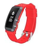 hhy neue db08 smart armband tiefe wasserdichte herzfrequenz blutdruck sauerstoff ermüdung schlaf übung übung kalorien