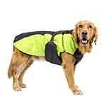 Собака Плащи Собака тревожная рубашка Жилет Одежда для собак Флис Нейлон ПВА Весна/осень Зима На каждый день Сохраняет тепло Регулируется