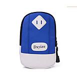 para la cubierta del caso el sostenedor de la tarjeta brazal brazalete caso color sólido nylon suave para universal otro