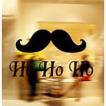 Недорогие -Мультипликация Слова и фразы Геометрия Наклейки Простые наклейки Декоративные наклейки на стены,Винил материал Украшение дома Наклейка на