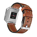 For Fitbit Ionic Newest Genuine Leather Replacement Watch Strap Fashion Watchband band