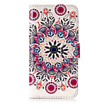 For Case Cover Card Holder Wallet with Stand Flip Pattern Full Body Case Mandala Hard PU Leather for Huawei Huawei P10 Lite Huawei P9