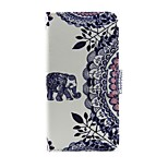 Case For Motorola G5 Card Holder Wallet with Stand Flip Full Body Elephant Hard PU Leather for Moto G Moto G3 Moto G5 Moto E